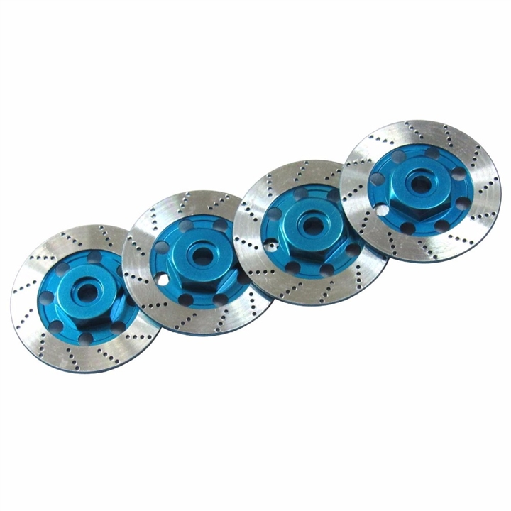 Aluminum Wheel Hub Disc Brake 1/10 12mm Hex
