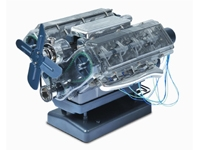 Haynes Transparent V8 Engine Model Kit HM12US