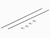 Heli-Max HMXE8450 Tail Boom Supports (2) Novus 125 CP/FP