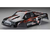 HPI Savage Flux GT-2 Painted Body (Black/Red/Silver)