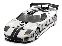 HPI102505 Ford GT Painted Body White 200mm