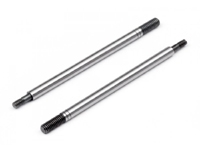HPI113140 Shock Shaft 3x100mm (Rear/Silver/2pcs)