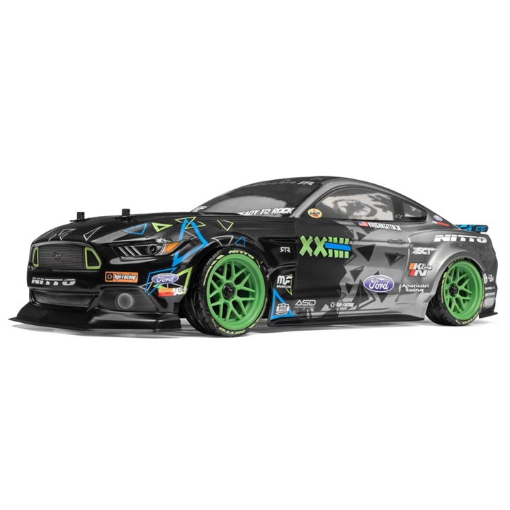 HPI 115984 RS4 SPORT 3, Vaughn Gitten Jr, FORD MUSTANG, 1/10 Scale, w/ 2.4GHz Radio System