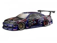 HPI30717 Weld JZX100 Toyota Mark II Clear Body 200mm