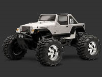 HPI7182 Jeep Wrangler  Rubicon Body
