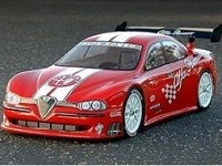 HPI Alfa Romeo 156 190mm body shell,  HPI7411