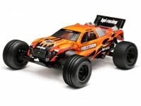 HPI7775 DSX Painted Body Black/Orange Firestorm