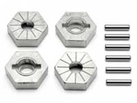 HPI Hex Wheel Hub 17mm (Silver) 86804