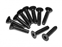 M4 x 18mm Flat head screw (10 pcs) HPI94632