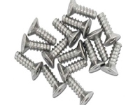 M2.6 x 8mm Titanium Flat head screw (15pcs) HPIZ043