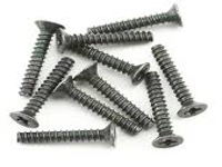 M3 x 18mm Flat head screw (10 pcs) HPIZ581