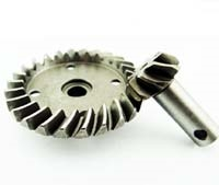 Hot Racing Hardened Steel Spiral Cut Ring/Pinion Gear Savage