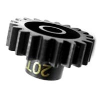 Hot Racing Steel Mod 1 Pinion Gear w/5mm Bore (20T)