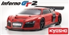 Kyosho 33006B Inferno GT2 Audi R8 LMS Red Race SPEC 1/8 GP 4WD RS