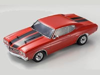 Kyosho FAZER Vei Cranberry Red 1970 Chevelle SS 454 LS6