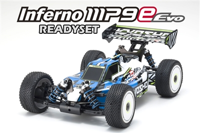 Kyosho 34106T1B INFERNO MP9e Evo Readyset 1/8 EP 4WD RS