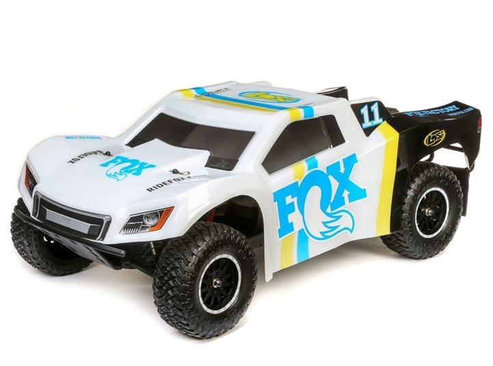 Losi Tenacity 1/10 RTR 4WD Short Course Truck (Fox Racing) w/ 2.4GHz Radio