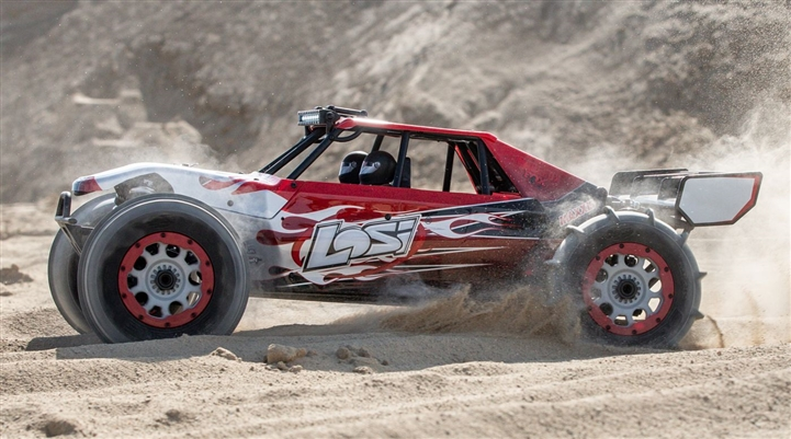 Team Losi 1/5 DBXL-E 2.0 4WD Brushless Desert Buggy RTR with Smart, Losi Body (LOS05020T2)