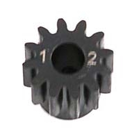 1.0 Module Pitch 5mm Pinion, 12T: 8E,SCTE