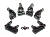 LOSA4124 XXX Front Spindles/Carriers and Rear Hubs