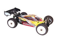 LOSA8095 8IGHT 2.0 Buggy Body, Masks, Stickers