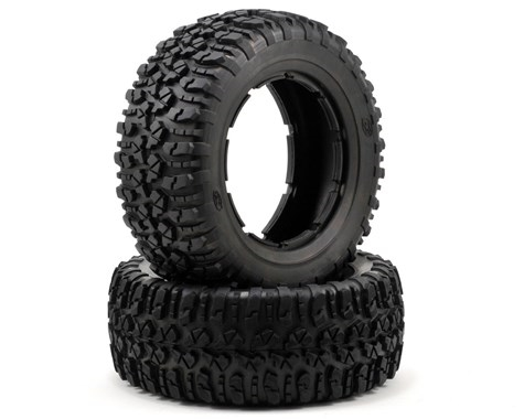 Losi Nomad Tire Set (2) (5IVE-T) (Firm) LOSB7240
