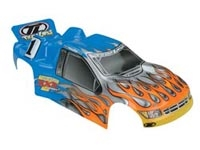 LOSB8040 Furv Truck Body, Blue  w/sticker