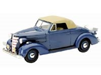 Chevy Master Convertible Cabriolet Blue -- Diecast Model Car -- 1/32 scale