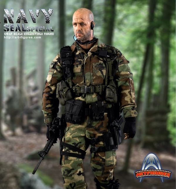 1/6 Scale 12 inch Navy SEAL Special Figure by Art Figures, AF004