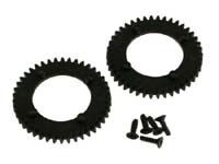 OFNA 17132 Spur Gear, Center, Nylon Black