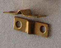 Brass Straps for Tail Wheel and Landing Gear 3/32