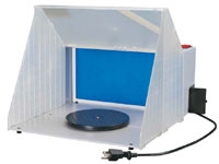 "Hobby Spray Booth: 16""W x 13""H x 19""D"