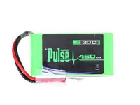 Pulse 2S 7.4V 450mAh 30C Lithium Polymer Battery