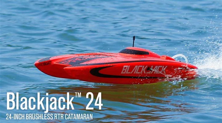 "Blackjack 24"" Brushless Catamaran RTR (PRB08007)"