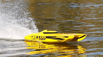 "Zelos 36"" Twin Brushless Catamaran RTR (PRB08021)"