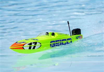 "Miss GEICO 17"" Power Boat Racer Deep-V RTR (PRB08044T1)"