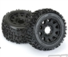 "Badlands 3.8"" MTD Raid 8x32 Wheels 17mm MT F/R PRO117810"