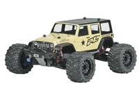 Jeep Wrangler Unlimited Rubicon Clear Body T/E, 3405-00