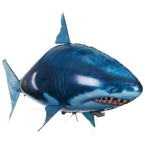 Remote Control Air Swimmer Flying Shark Blimp