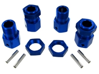 RedCat 050030 Wheel hex and nut set (4pcs)