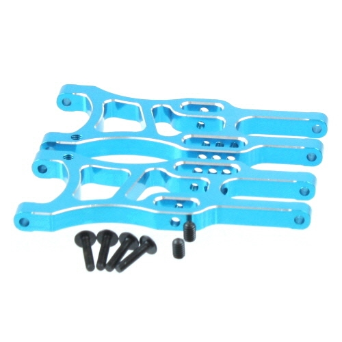 RedCat 06050B Aluminum front lower arm (2pcs)(blue)(Same as 106619)