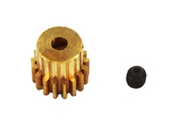 RedCat 11119 Brass Pinion Gear 17T, 6 Module