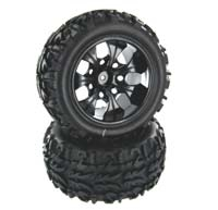 Wheel & Tire for Sandstorm, VOLCANO EPX (2pcs), Redcat 20126