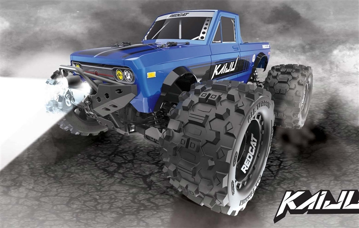 Kaiju 1/8 Scale Brushless Monster Truck - 2.4Ghz Radio, Ready to Run