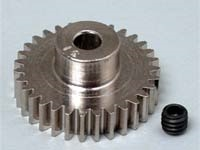 Robinson Racing Steel 48P Pinion Gear (3.17mm Bore) (31T), RRP1031