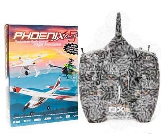 Phoenix R/C Pro Simulator V5 Softwre & Wired Interface  (with out Transmitter)
