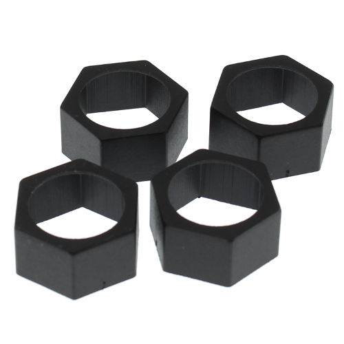 Redcat 09065 Plastic Wheel Hex Adapter 22mm-24mm (4pcs)