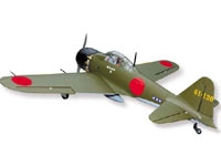 SEAGULL A6M ZERO ARF  Wing Span	66.9 in