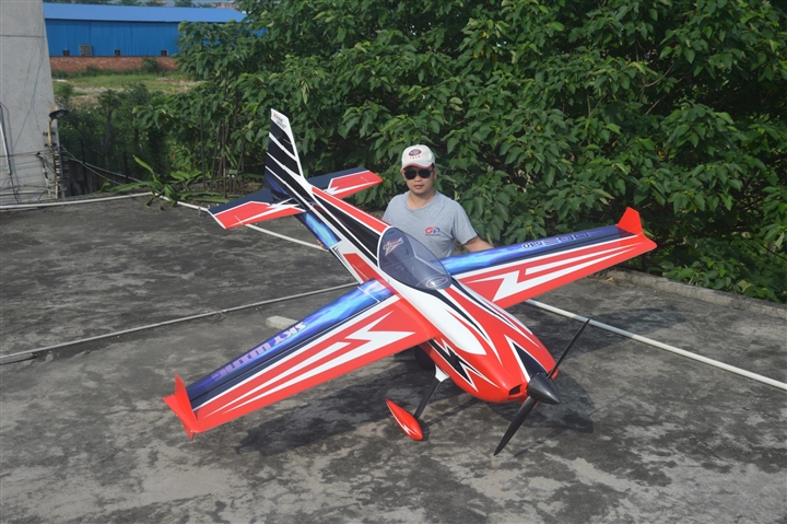 "Skywing RC 105"" Edge 540 Red - Print Scheme"