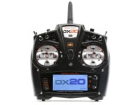 Spektrum DX20 20 CH System w/ AR9020 Mode 2 Selectable 1-4